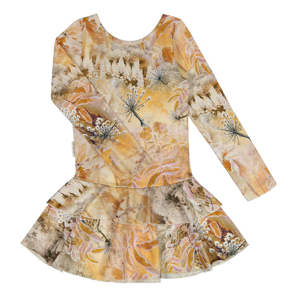 gugguu Outlet Print Frilla Dress Dresses Frozen Flower 62