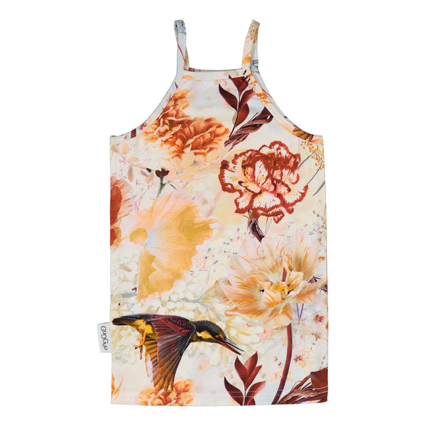 gugguu Outlet Print Spaget Top Shirts Hummingbirds 116