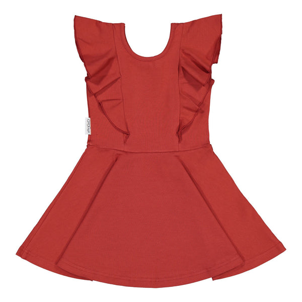 gugguu Outlet Rizi Dress Dresses Spicy Red 104