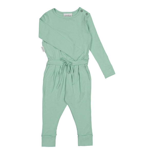 gugguu Outlet Viscose Wholesuit Jumpsuits Green Vine 80