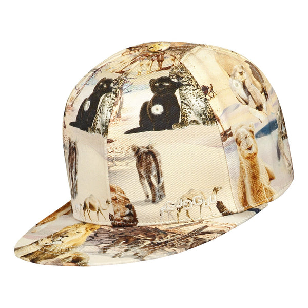 gugguu Print Basic Cap Headwear Safari ride XXS