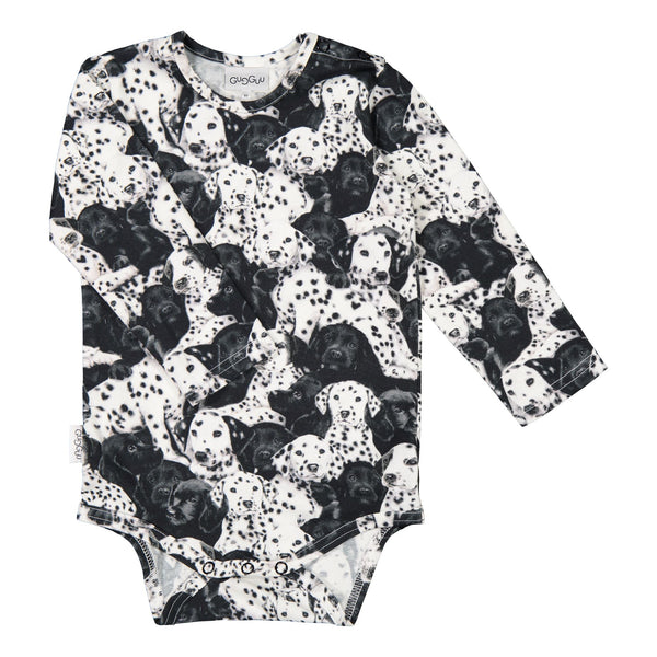 gugguu Print Body Onesies Puppies 62/0-3M