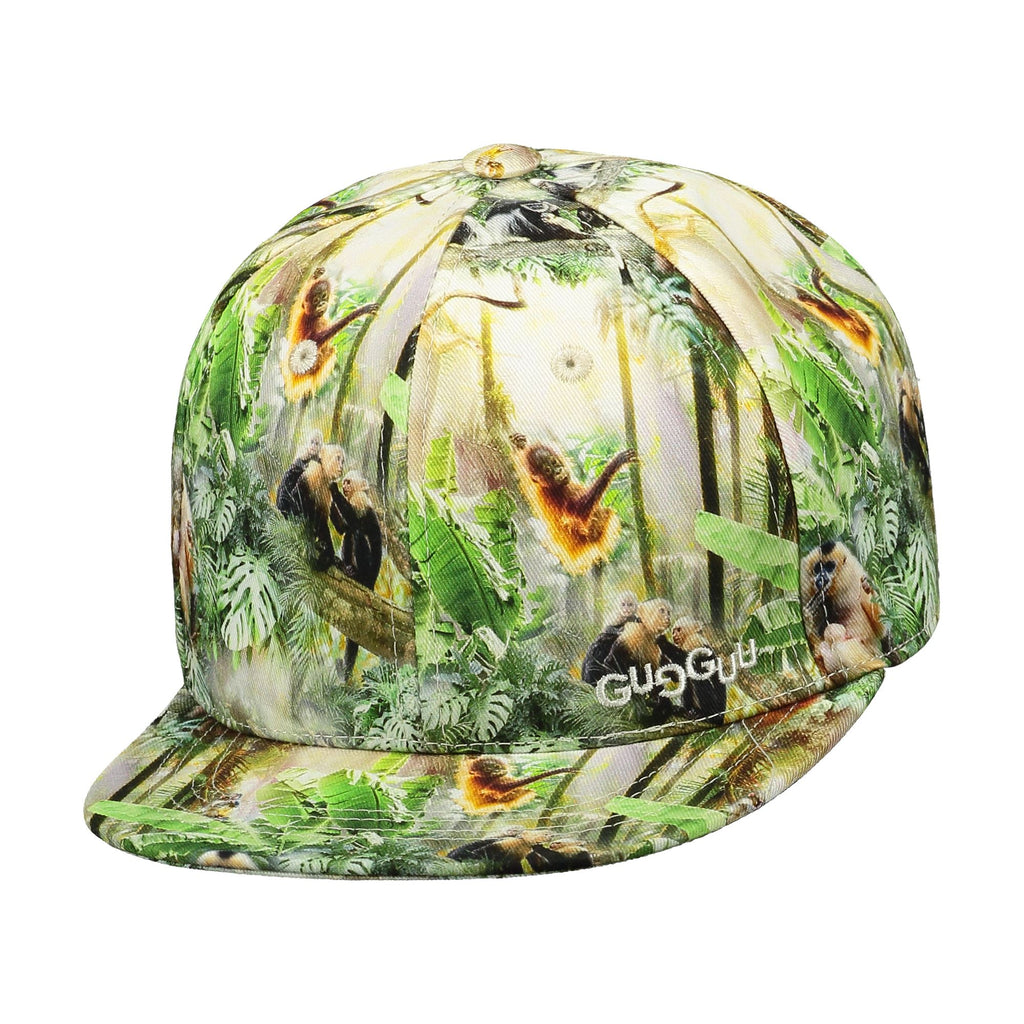 gugguu Print Cap Headwear Monkey Jungle XS