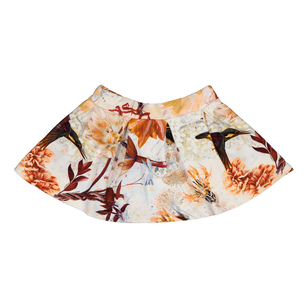 gugguu Print Flow Skirt Skirts Hummingbirds 80/1Y
