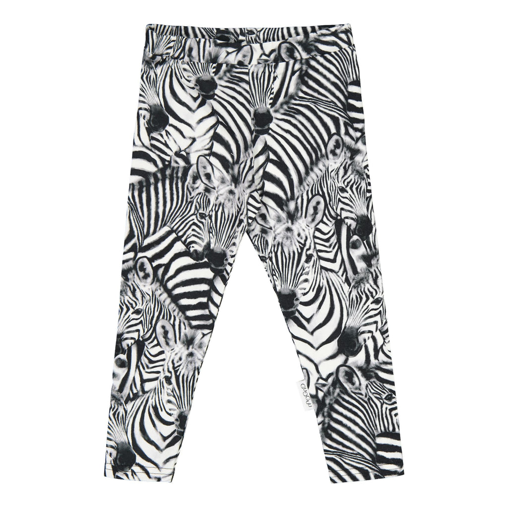gugguu Print leggings Leggings Baby Zebra 62