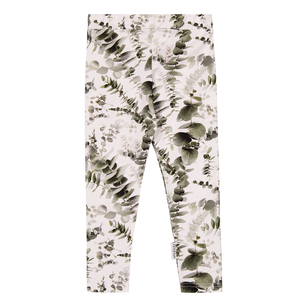 gugguu Print Leggings Leggings Eucalyptus 80