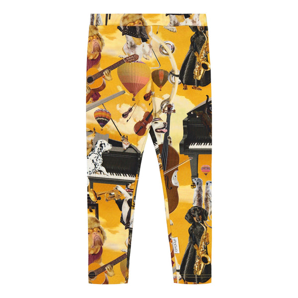 gugguu Print Leggings Leggings Jazz Dogs 80