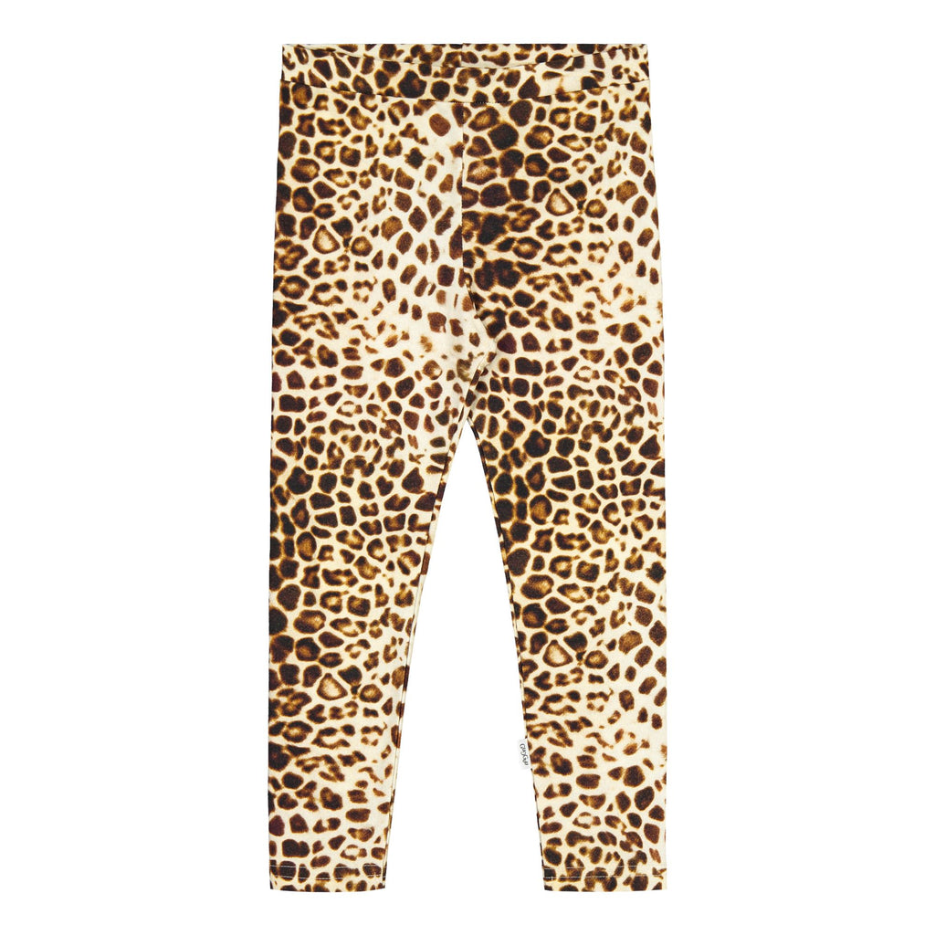 gugguu Print leggings Leggings Latte Leopard Dots 62