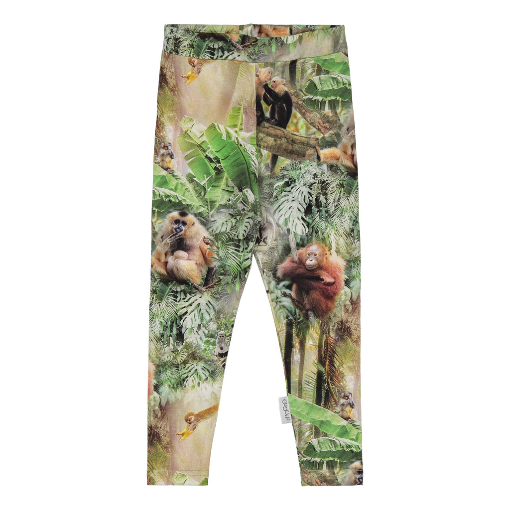 gugguu Print Leggings Leggings Monkey Jungle 62