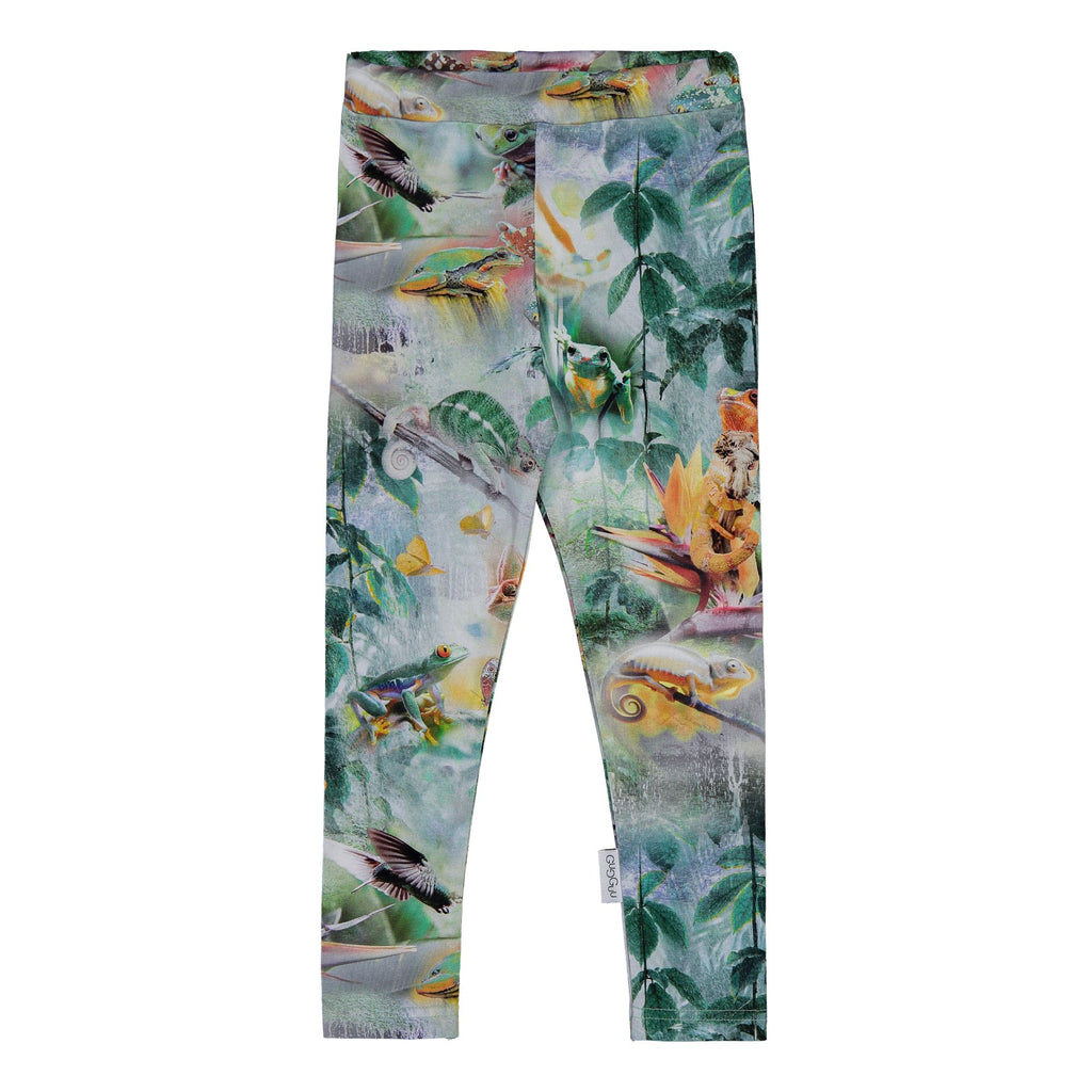 gugguu Print Leggings Leggings Rainforest 80