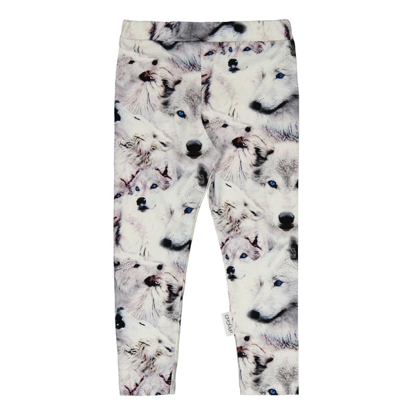 gugguu Print Leggings Leggings Wolves 62