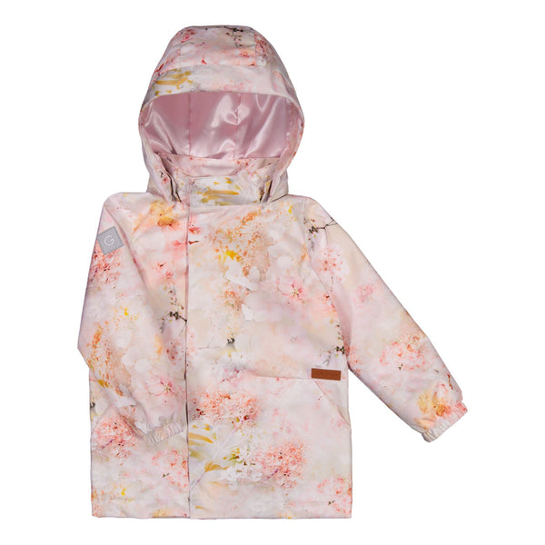 gugguu Print Midseason Jacket Outerwear Dreamy Flower 80