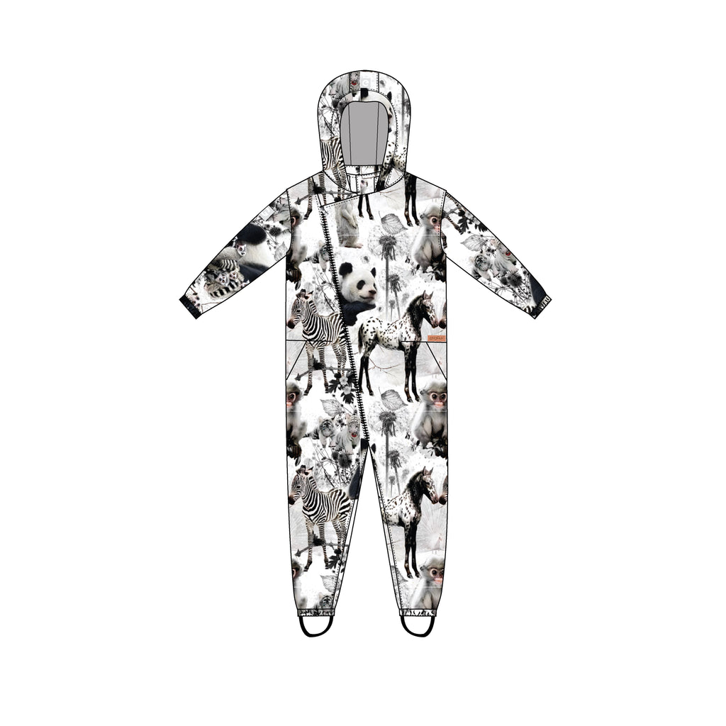 gugguu Print Midseason Overall Outerwear Baby Animals 62