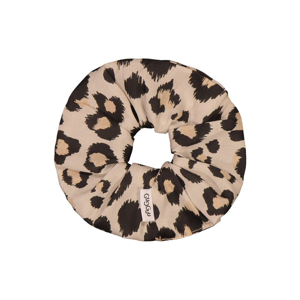 gugguu Print Scrunchie Hair accessories Ginger Leopard ONE SIZE