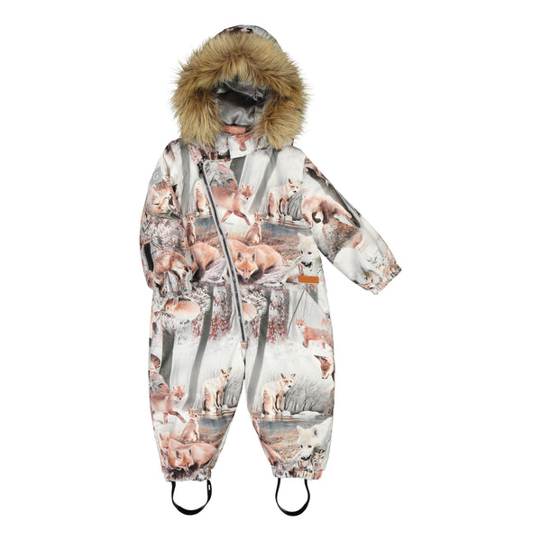 gugguu Print Snowsuit Outerwear Dancing Foxes 62 / 0-3M
