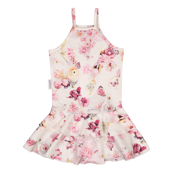 gugguu Print Spaget Dress Dresses Romance Butterfly 80