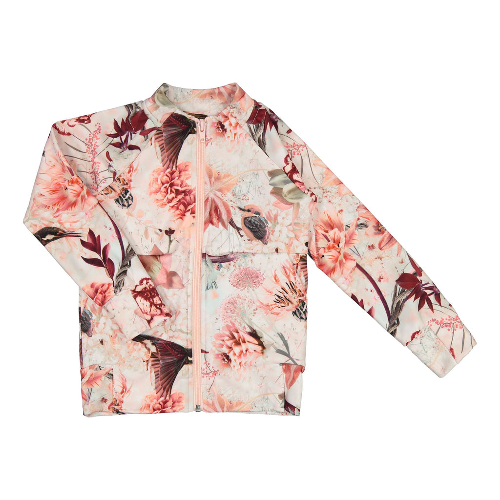 gugguu Print Sport Bomber Hoodies and sweatshirts Pink Hummingbirds 80