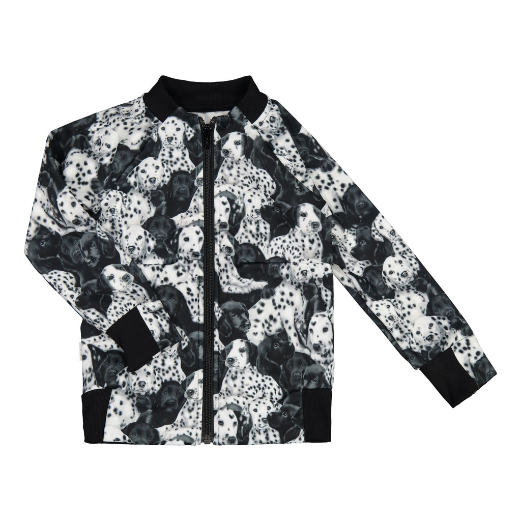 gugguu Print Sport Bomber Hoodies and sweatshirts Puppies 80