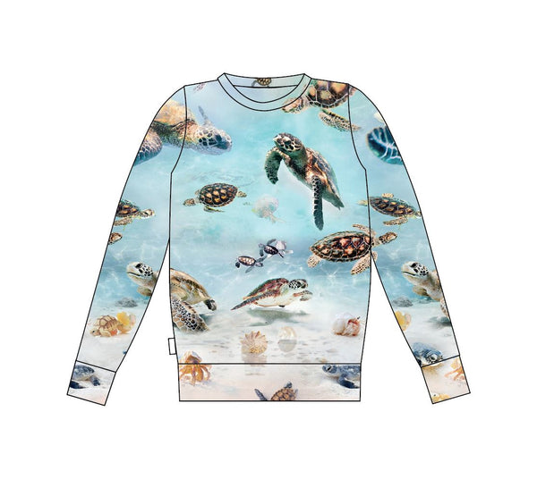 gugguu Print Sweatshirt Hoodies and sweatshirts Turtles 80