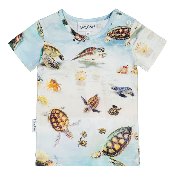 gugguu Print T-shirt Shirts Turtles 80