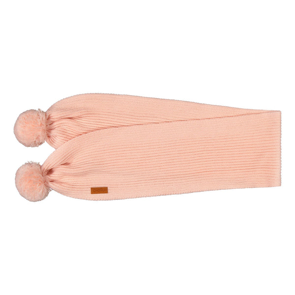 gugguu Scarf with Tufts Scarfs Satin Pink ONE SIZE