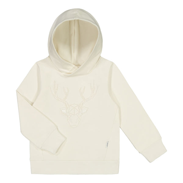 gugguu Shape Hoodie Hoodies and sweatshirts Pearl White / Reindeer 80