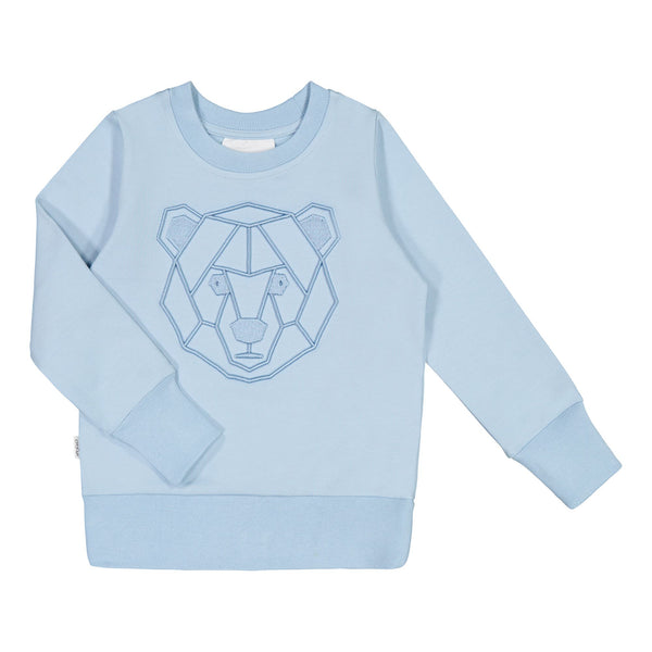 gugguu Shape Sweatshirt Shirts Frozen Blue / Bear 140