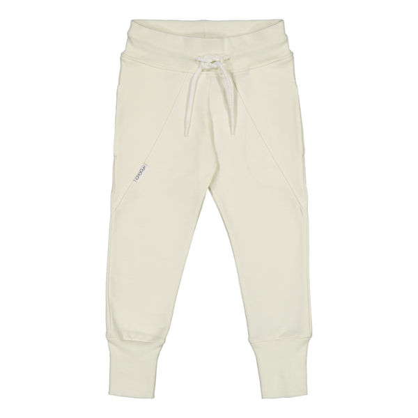 gugguu Slim Baggy Pants Pearl White 80