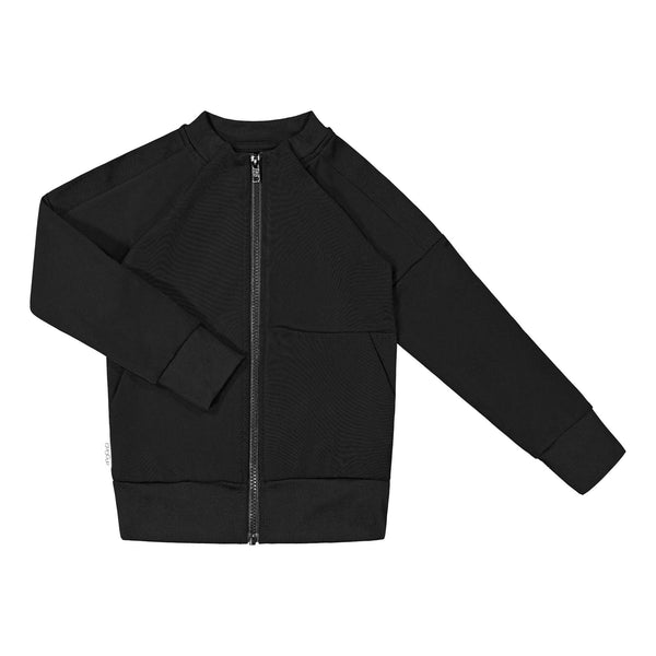 gugguu Stripe Sport Bomber Hoodies and sweatshirts Black 80