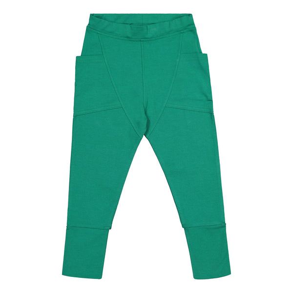 gugguu Tricot Pants Pants Jungle Green 80