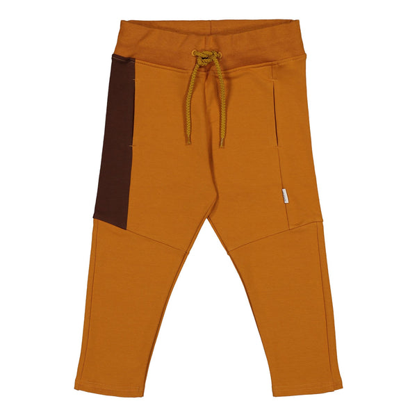 gugguu Triple Sweatpants Pants Tanned Yellow/ Cocoa Bear/ Cocoa Bear 80