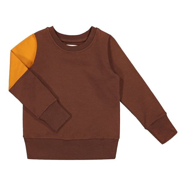 gugguu Triple Sweatshirt Hoodies and sweatshirts Cocoa Bear/ Tanned Yellow/ Cocoa Bear 80