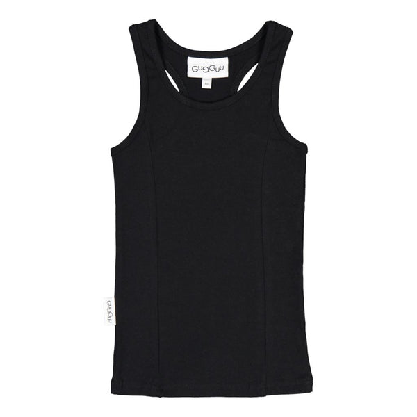 gugguu Unisex Top Shirts Black 80/1Y