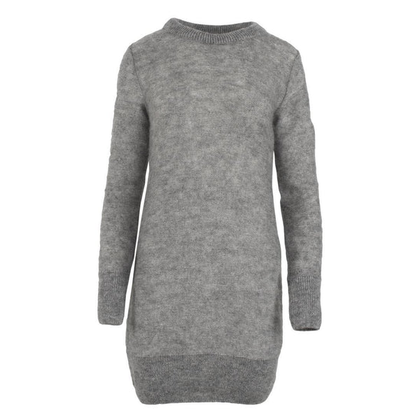 gugguu Women's Mohair dress Mohair Grey L