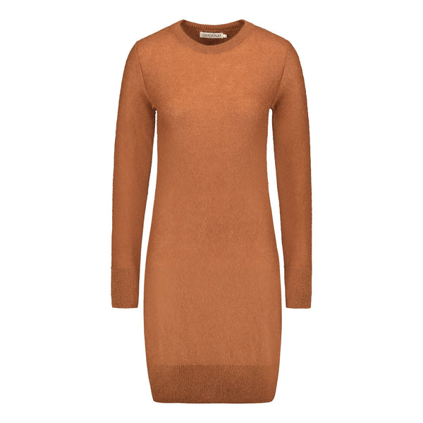 gugguu Women's Mohair Dress Women's dresses Brown Sugar XS