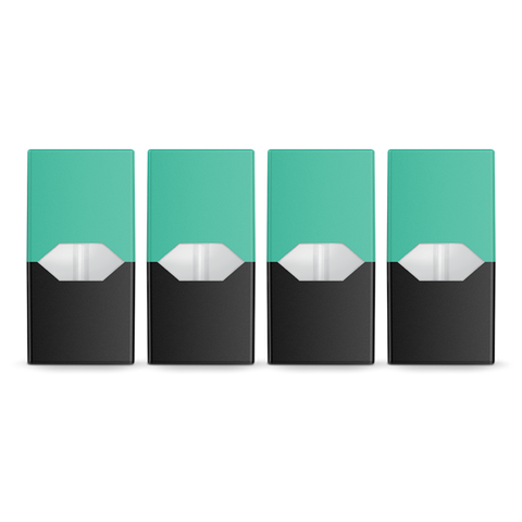 JUUL Replacement Pods (Pack of 4)-Pods-Cool Mint 5% Nicotine-DrippiVapes