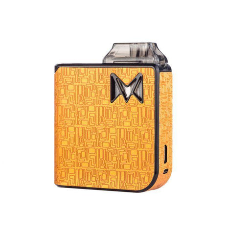 Smoking Vapor Mi-Pod Pod Device Kit-Ultra-Portable System-Digital Orange-DrippiVapes