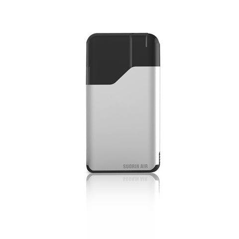 Suorin Air V2 Pod Device Kit-Ultra-Portable System-Silver-DrippiVapes