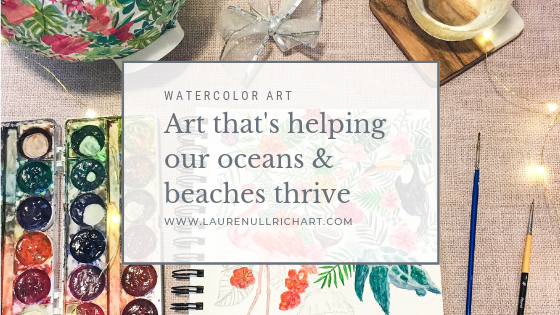 Art that's Helping our Oceans and Beaches Thrive!