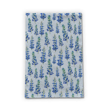 Load image into Gallery viewer, Blue Bonnet Tea Towels