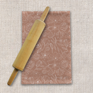 Copper Magnolia Tea Towels