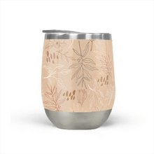 Load image into Gallery viewer, Desert Leaf Pattern Stemless Wine Tumblers