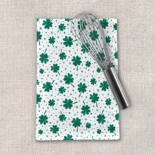 Four Leaf Clover | St. Patrick's Day Tea Towel