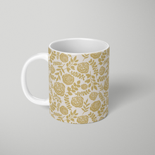 Load image into Gallery viewer, Gold Floral Pattern - Mug