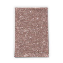 Load image into Gallery viewer, Mauve Magnolia Tea Towels