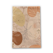 Load image into Gallery viewer, Orange Abstract Desert Tea Towel