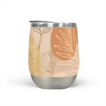 Load image into Gallery viewer, Orange Abstract Desert Stemless Wine Tumbler