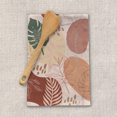 Pink Terracotta Tea Towels