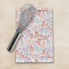 Load image into Gallery viewer, Rainbow Butterfly Tea Towels