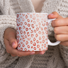 Load image into Gallery viewer, Rose Gold Leopard Print - Mug